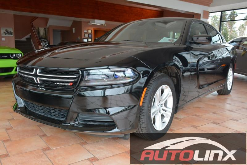 2015 Dodge Charger SE Automatic Black Black Black Dont let the miles fool you Here it is You