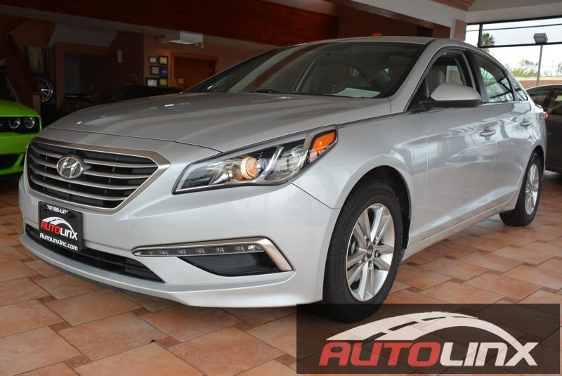 2015 Hyundai Sonata SE Automatic 6-Speed Silver Black Black Silver Bullet You NEED to see thi