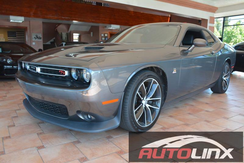 2015 Dodge Challenger SCAT Pack 5-Speed Automatic  Gray Black Join us at AutoLinx Inc Dont wa
