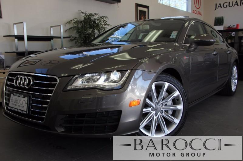 2013 Audi A7 30T Quattro Premium 4dr Sedan Automatic Bronze Tan Beautiful Brown A7 with a beau