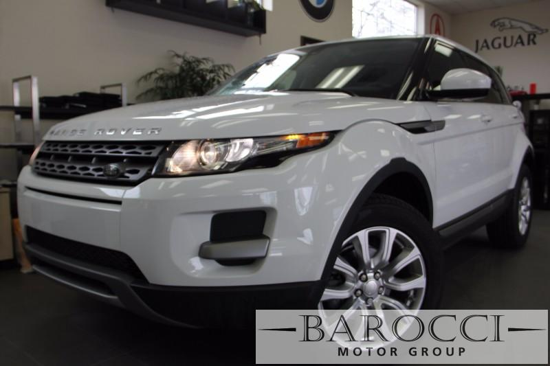 2015 Land Rover Range Rover Evoque Pure Plus AWD 4dr SUV Automatic White Black Beautiful Evoque