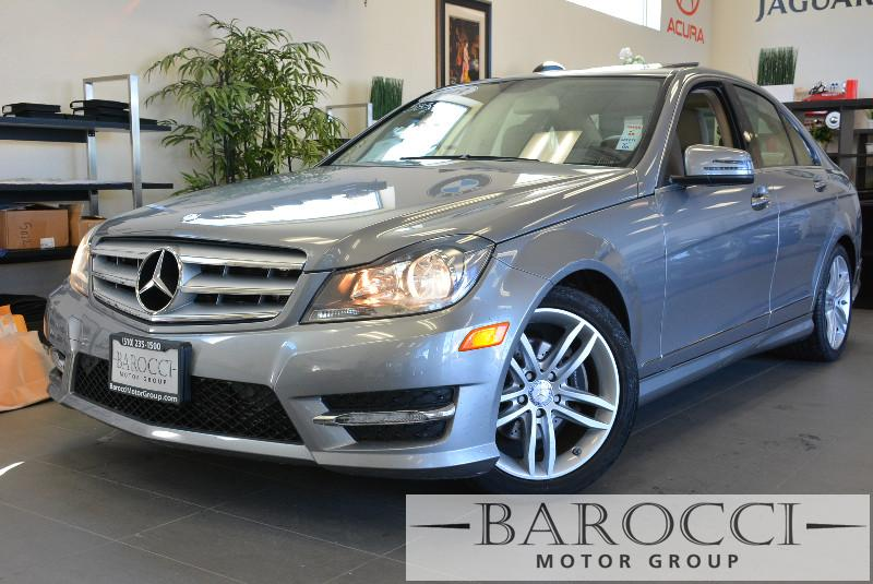 2013 MERCEDES C-Class C250 4dr Sedan 7 Speed Auto Gray Tan Why buy brand new when you can have