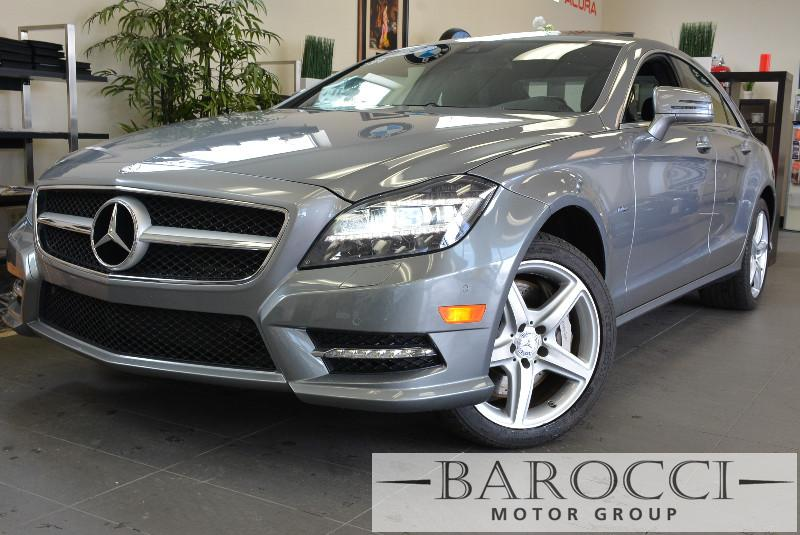 2012 MERCEDES CLS-Class CLS550 4dr Sedan Automatic Silver Black This is a beautiful CLS that st