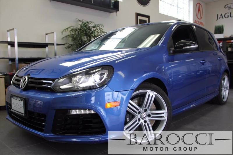 2012 Volkswagen Golf R Base AWD 4dr Hatchback 6 Speed Man Blue Black Beautiful Golf R has so m