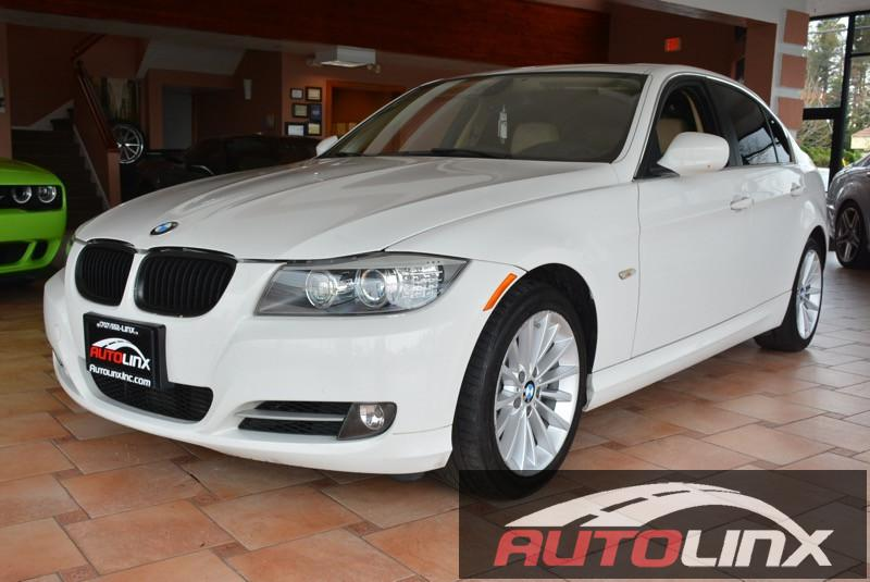 2010 BMW 3-Series 335i Automatic White Black One Owner Navigation System Online Information S