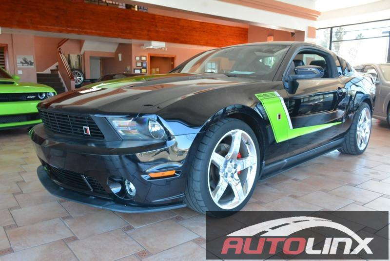 2012 Ford Mustang GT Coupe  6-Speed Manual Black Black 540 HP ROUSH STG3 SUPERCHARGE 50L V8