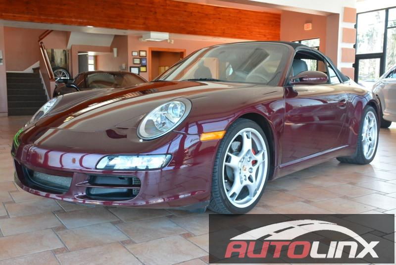 2005 Porsche 911 S 5-Speed Automatic  Red Gray Red Hot The AutoLinx Inc Advantage How exhila