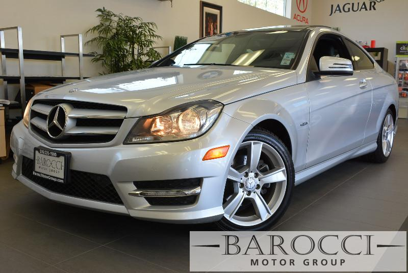 2012 MERCEDES C-Class C250 Coupe Automatic Silver Black This beautiful C-Class car gets an esti