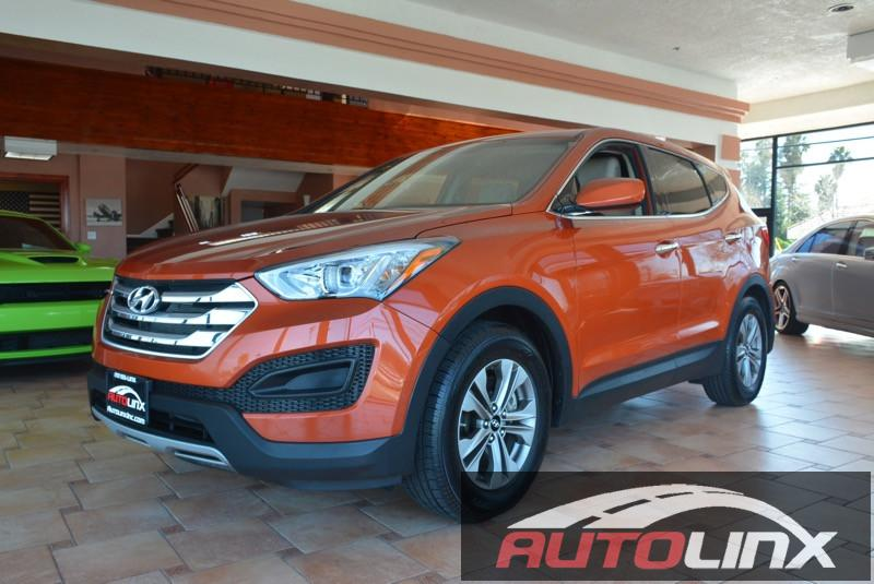 2015 Hyundai Santa-Fe Sport Automatic Orange Gray Accident free Carfax History and Still under