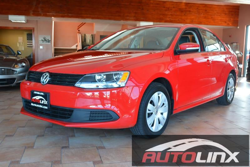2014 Volkswagen Jetta 18T SE wPZEV Automatic 6-Speed Red Tan Tan Hurry and take advantage no