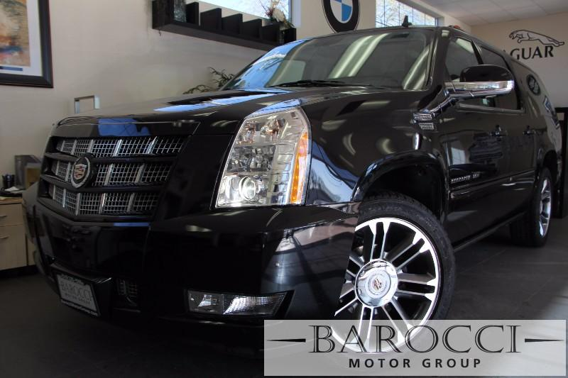 2013 Cadillac Escalade ESV Premium AWD 4dr SUV Automatic Black Black This One Owner vehicle is