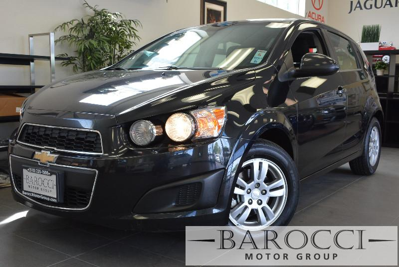 2013 Chevrolet Sonic LT Auto 4dr Hatchback w 1SD 6 Speed Auto Black Air Conditioning Alarm Po