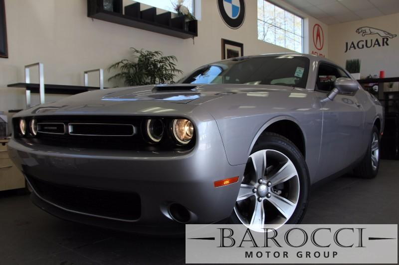2015 Dodge Challenger SXT 2dr Coupe Automatic Gray Black Beautiful Challenger on special comes