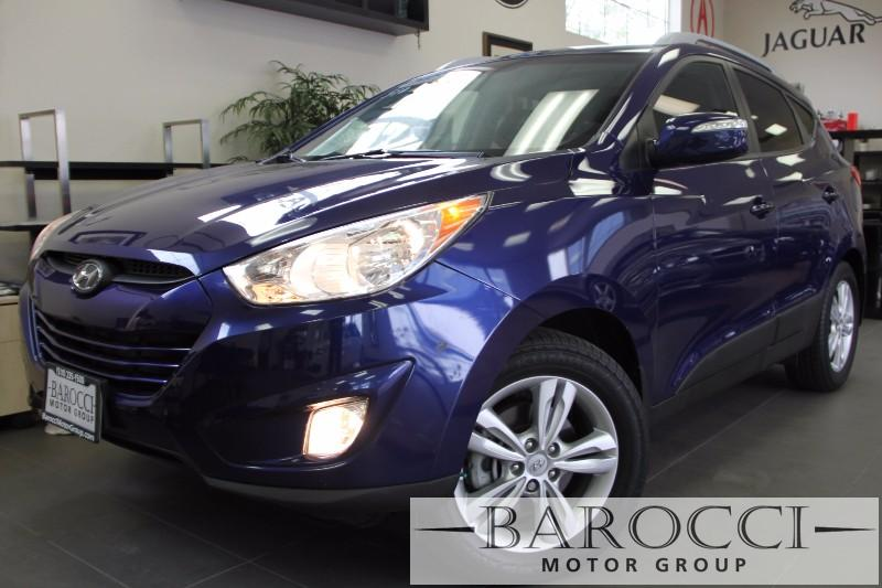 2013 Hyundai Tucson GLS 4dr SUV Automatic Blue Brown Beautiful Tucson has many options includin