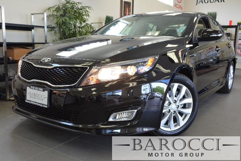 2015 Kia Optima EX 4dr Sedan 6 Speed Auto Black Leather Seats Air Conditioning Alarm Power St