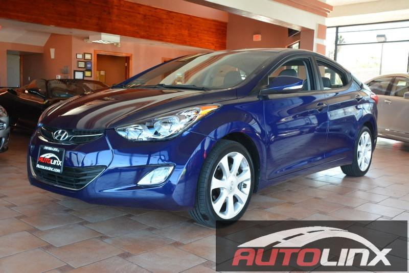 2011 Hyundai Elantra Limited Automatic Blue Gray Hurry and take advantage now Welcome to AutoL