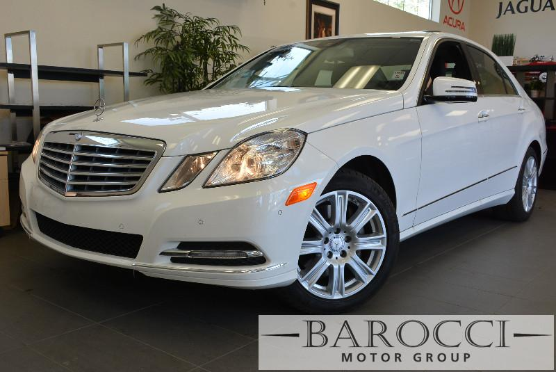 2013 MERCEDES E-Class E350 Luxury 4dr Sedan 7 Speed Auto White Traction Control Electronic Stab