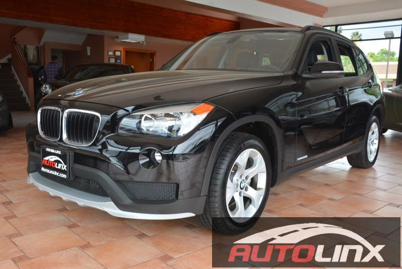 2015 BMW X1 sDrive28i 8-Speed Automatic Black Black Still under factory warranty Move quickly