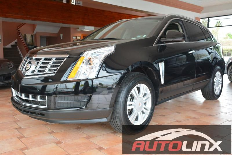 2015 Cadillac SRX Luxury Collection 6-Speed Automatic wManual Shift Black Black Still under fa