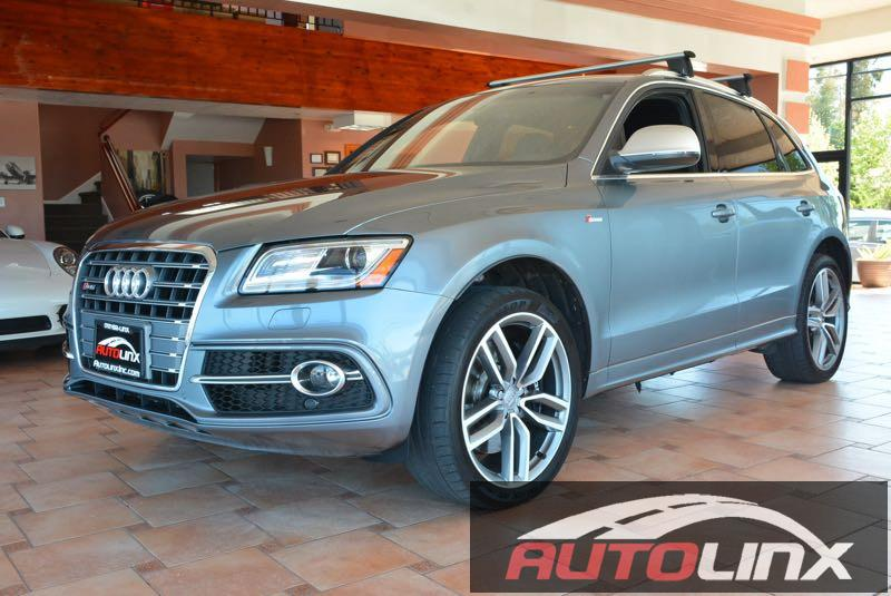 2014 Audi SQ5 30 quattro Premium 6-Speed Automatic Gray Black Still under factory warranty 4D