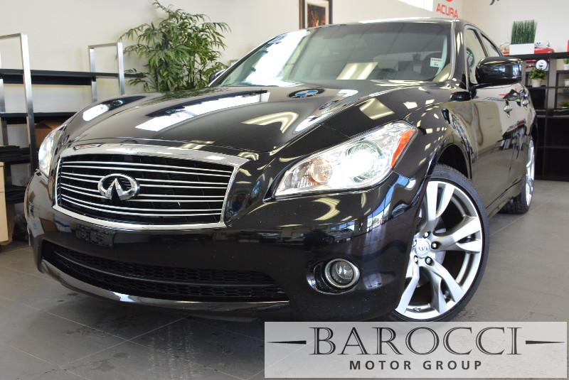 2013 Infiniti M37 Sport pkg 4dr Sedan 7 Speed Auto Black ABS Air Conditioning Alarm Alloy Wh