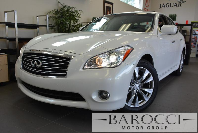 2013 Infiniti M37 Base 4dr Sedan 7 Speed Auto White ABS Air Conditioning Alarm Alloy Wheels