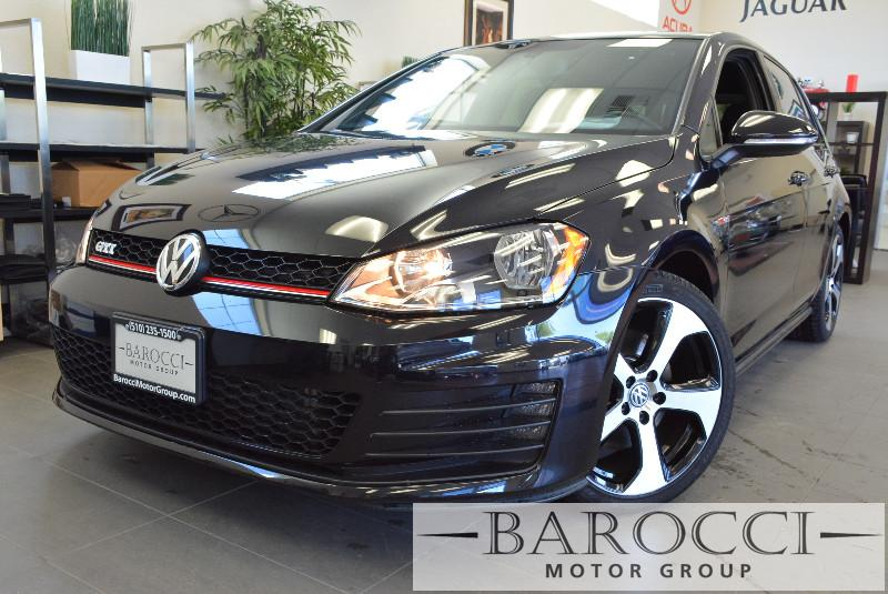 2015 Volkswagen Golf GTI SE 4dr Hatchback 6M 6 Speed Man Black Air Conditioning Power Steering