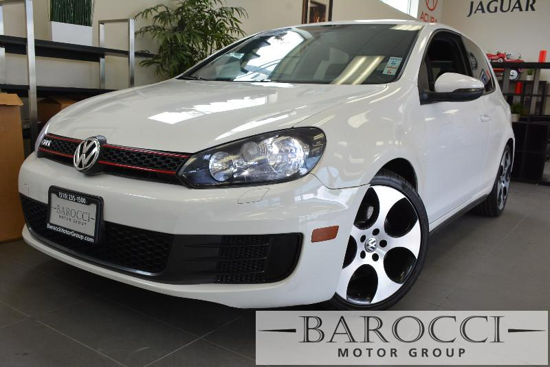 2013 Volkswagen GTI Base PZEV 2dr Hatchback 6M 6 Speed Man White Includes privacy glass blueto