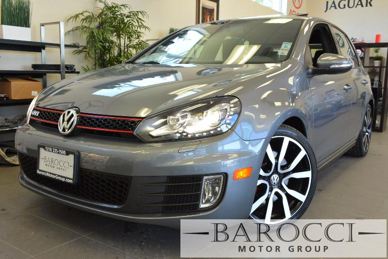 2013 Volkswagen GTI 4dr Hatchback 6M Autobahn 6 Speed Man Charcoal ABS Air Conditioning Alarm