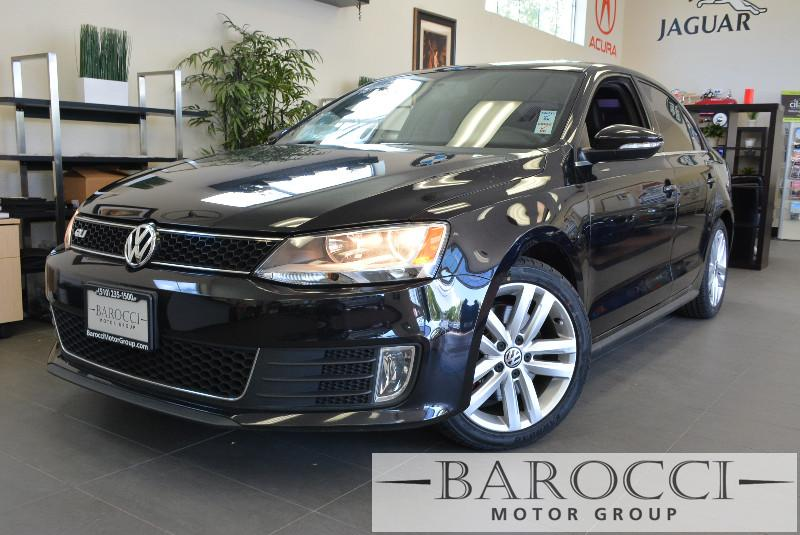 2012 Volkswagen Jetta GLI 4dr Sedan 6A 6 Speed Auto Black ABS Air Conditioning Alarm Alloy Wh