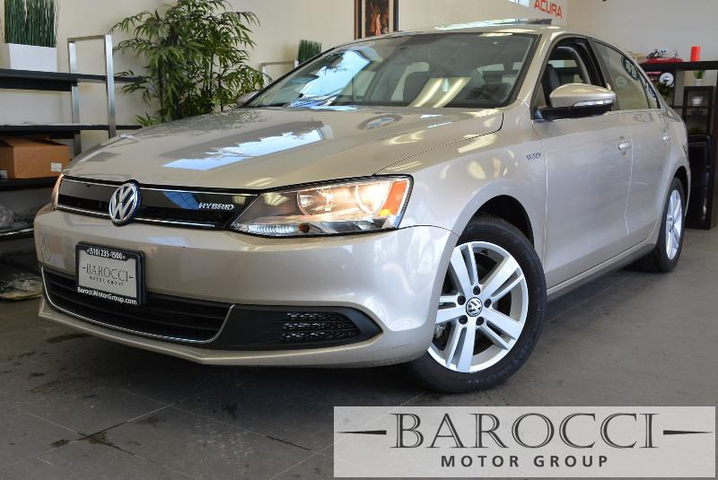 2013 Volkswagen Jetta Hybrid SEL 4dr Sedan 7 Speed Auto Gold ABS Air Conditioning Alarm Alloy