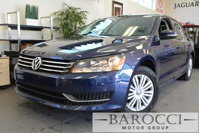 2015 Volkswagen Passat S PZEV 4dr Sedan 6A 6 Speed Auto Blue ABS 4-Wheel Air Conditioning Allo