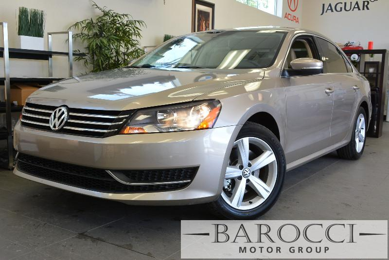 2015 Volkswagen Passat SE PZEV 4dr Sedan 6A 6 Speed Auto Gold Air Conditioning Alarm Power Ste