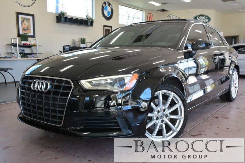 2015 Audi A3 18T Premium 4dr Sedan Automatic Black Black Now for sale is an excellent 2015 Aud