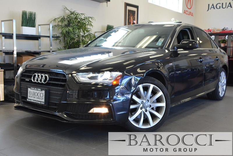 2014 Audi A4 20T Premium 4dr Sedan Automatic Black Black This is a beautiful vehicle in great