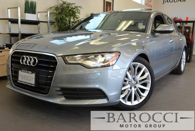 2013 Audi A6 20T Premium Plus 4dr Sedan Automatic Gray ABS Air Conditioning Alarm Alloy Whee