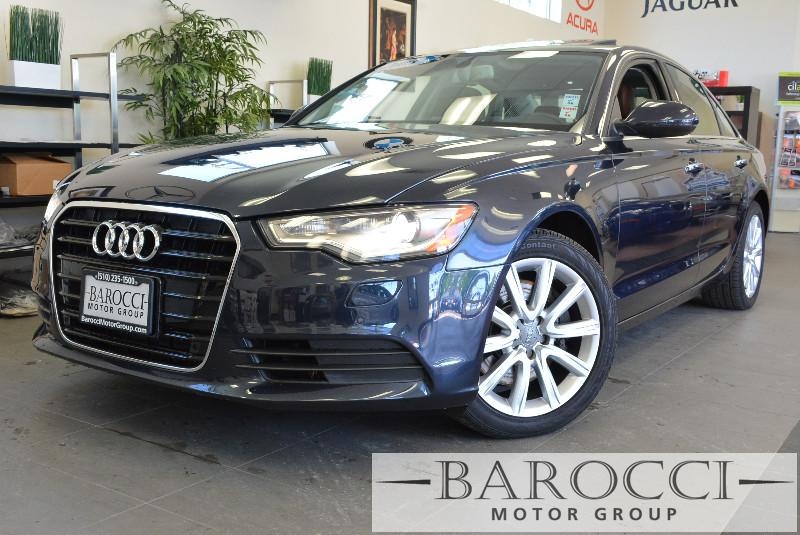 2015 Audi A6 20T Premium Plus 4dr Sedan Automatic Blue ABS Air Conditioning Alarm Alloy Whee