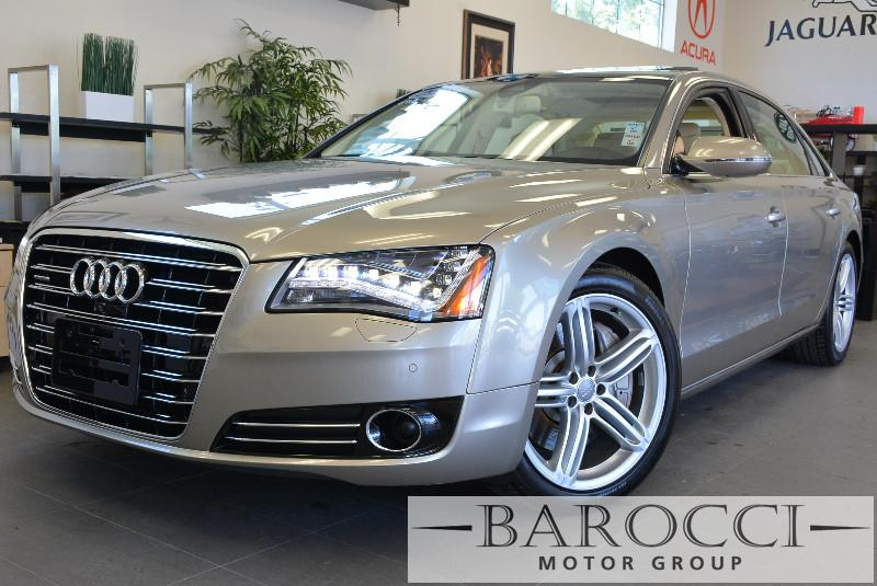 2013 Audi A8 L 40T quattro LWB AWD  4dr Sedan Automatic Gold Beige This is a beautiful Audi A8
