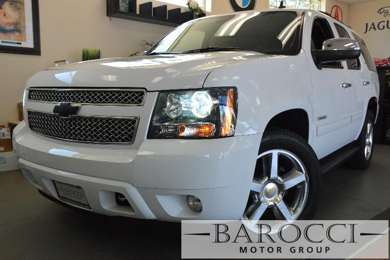2014 Chevrolet Tahoe LT 4x2  4dr SUV 6 Speed Auto White Child Safety Door Locks Power Door Lock