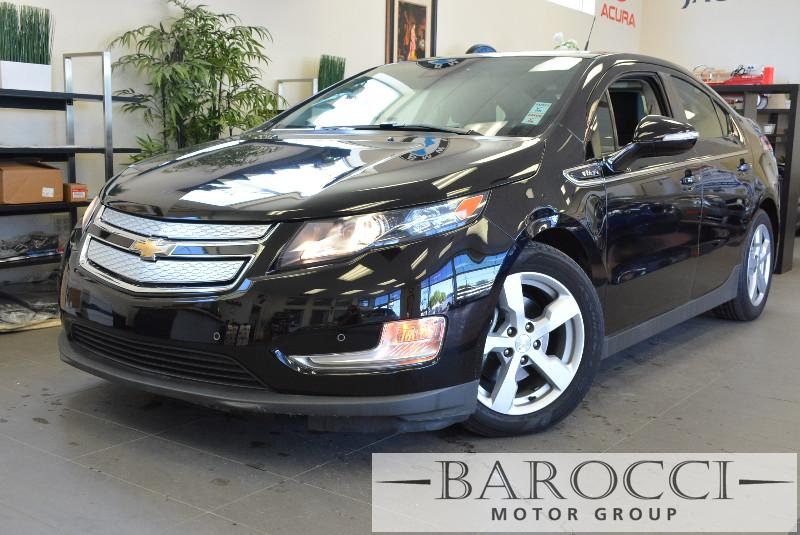 2013 Chevrolet Volt Premium 4dr Hatchback 1 Speed Auto Black ABS Air Conditioning Alarm Alloy