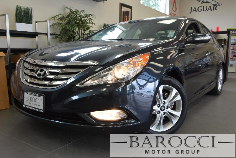 2013 Hyundai Sonata LIMITED 4dr Sedan 6 Speed Auto Blue Child Safety Door Locks Power Door Loc