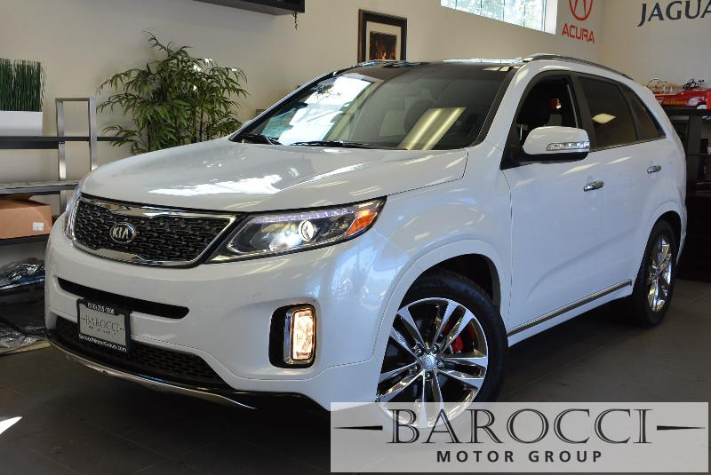 2015 Kia Sorento Limited 4dr SUV Automatic White Black Beautiful 7-Seater SUV comes loaded with
