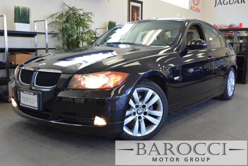 2007 BMW 3-Series 328i 6 Speed Manual Black Tan Child Safety Door Locks Power Door Locks Vehi