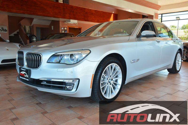 2014 BMW 7 Series 750Li 6-Speed Automatic Silver Accident free Carfax History and Still under fa