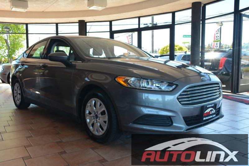 2013 Ford Fusion S 5-Speed Automatic  Gray Black 6-Speed Automatic Dont wait another minute H
