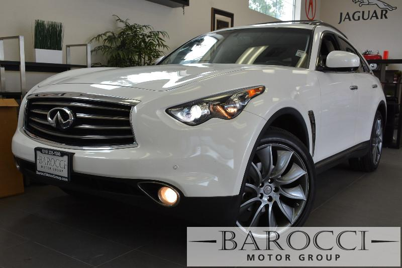 2013 Infiniti FX37 Limited Edition AWD  4dr SUV 7 Speed Auto White Black Beautiful FX37 very s