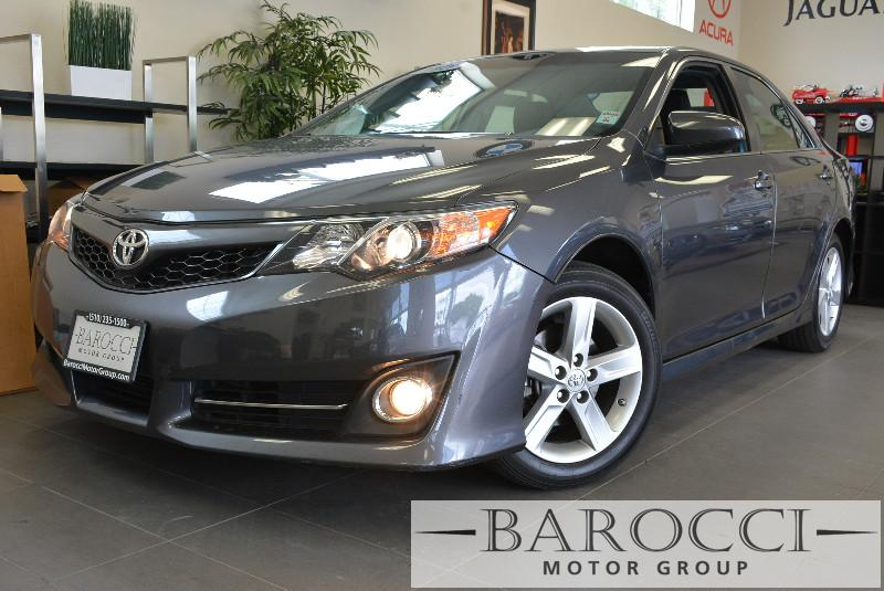 2013 Toyota Camry SE 4dr Sedan 6 Speed Auto Gray Air Conditioning Alarm Power Steering Power