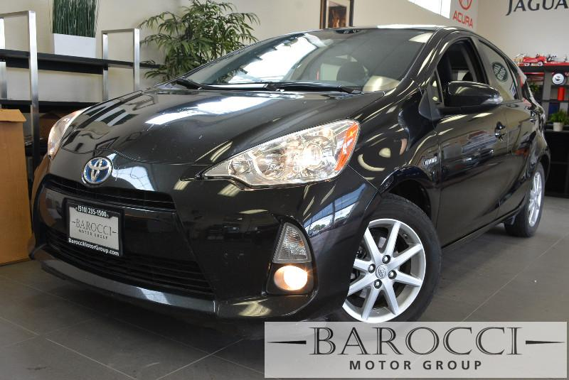 2012 Toyota Prius C Four 4dr Hatchback Continuously Variable Tra Black Child Safety Door Locks