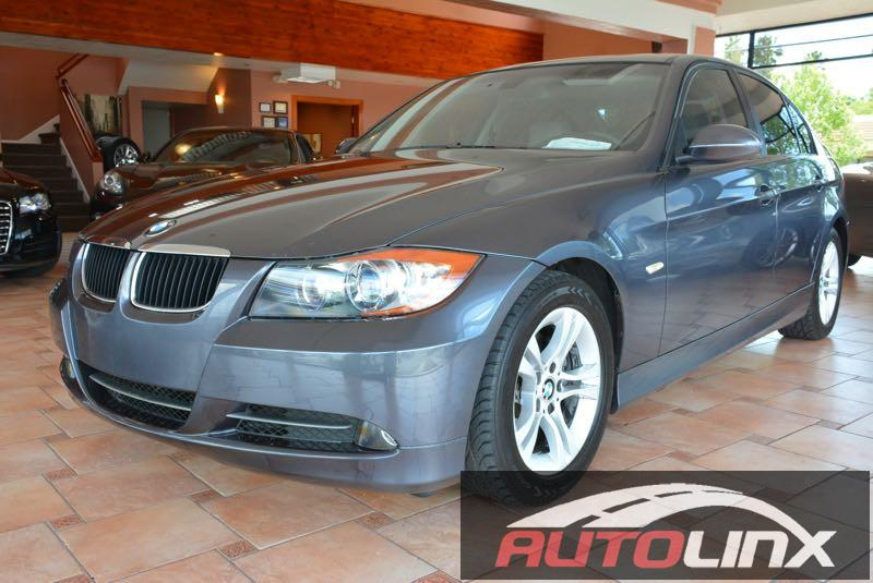 2008 BMW 3-Series 4door Automatic Gray Gray Drive this home today Dont bother looking at any o