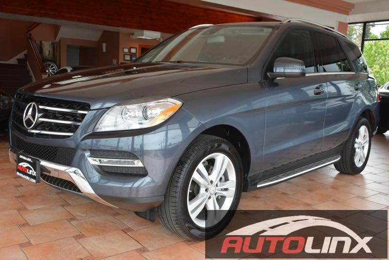 2014 MERCEDES M-Class ML350 4dr SUV 7 Speed Auto Gray Leather Hold on to your seats Dont bothe